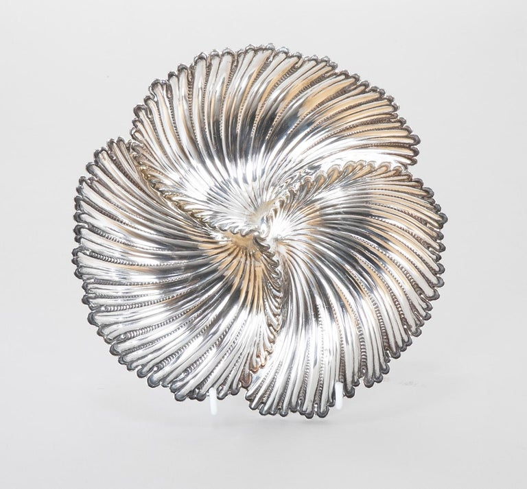 Buccellati Sterling Silver Dish by Gianmaria Buccellati For Sale 3
