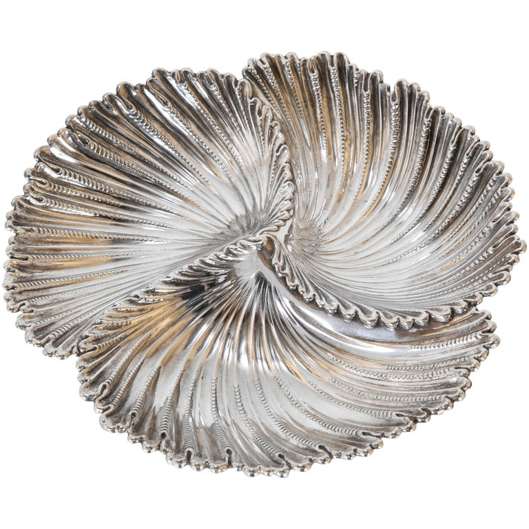 Buccellati Sterling Silver Dish by Gianmaria Buccellati For Sale