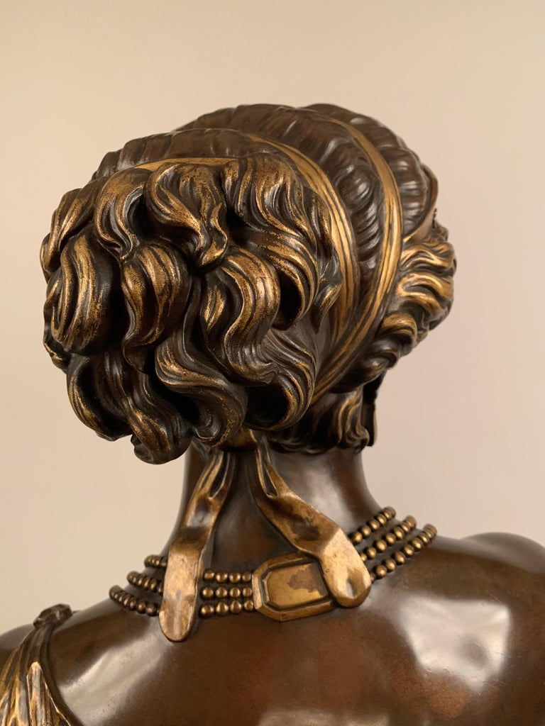 Bust of 'Helen of Troy' by J-B Clesinger In Excellent Condition For Sale In London, GB