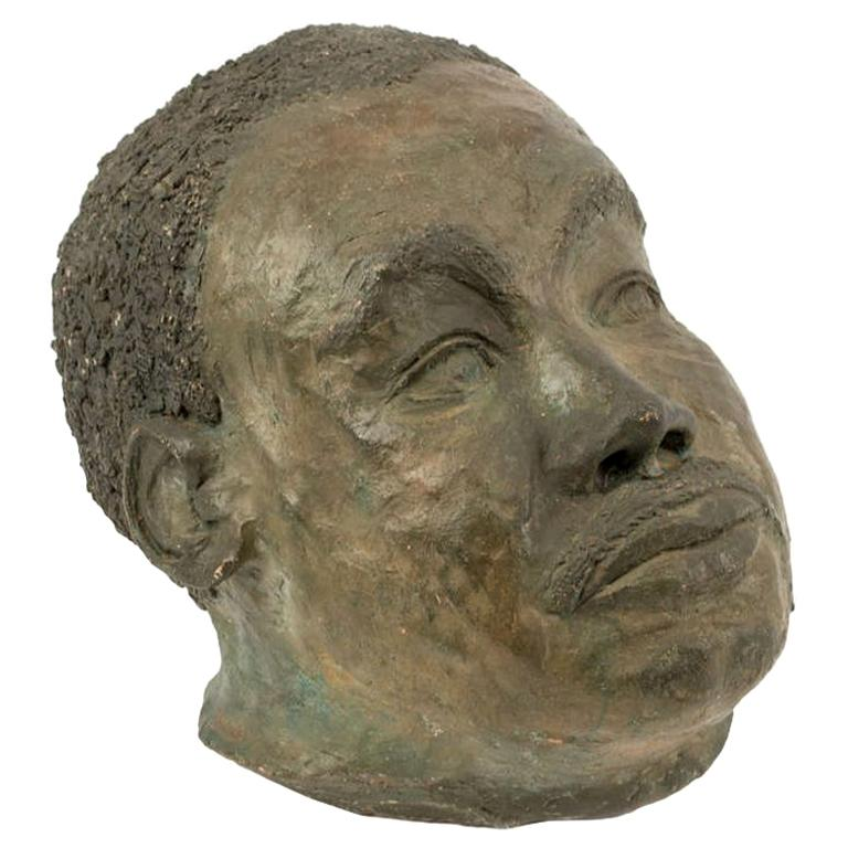 Bust of the Boxer Joe Louis by Mahonri Young For Sale