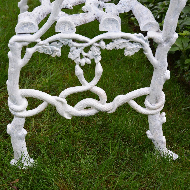 Cast-Iron Twig Settee For Sale 4
