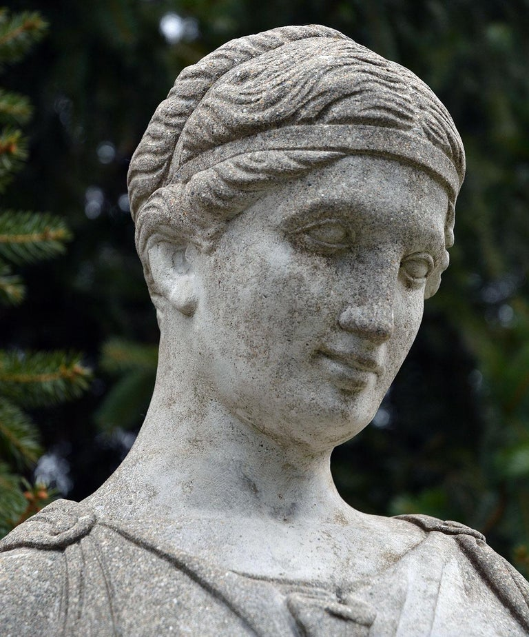 Cast-Stone Statue of Hebe For Sale 3