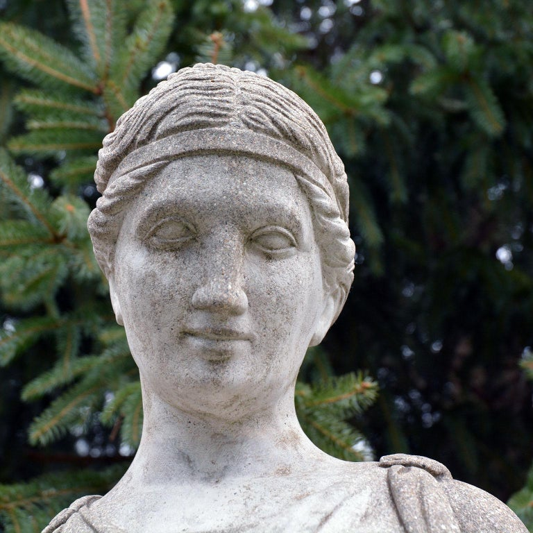Cast-Stone Statue of Hebe For Sale 2