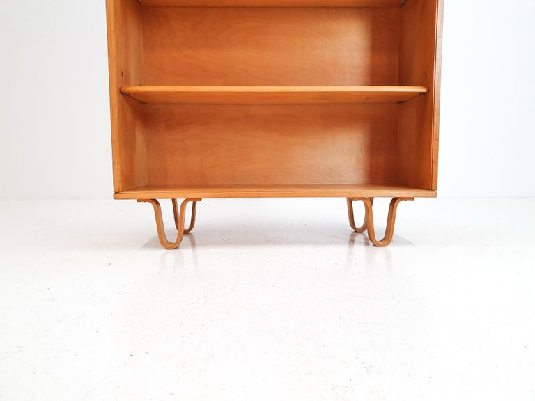 20th Century Cees Braakman BB02 Birch Bookcase for UMS Pastoe, Designed 1952, Netherlands For Sale