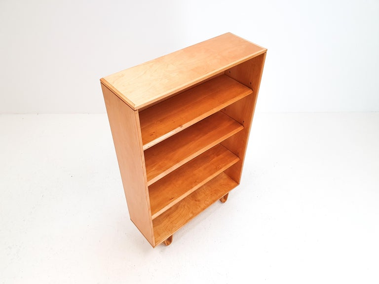 Cees Braakman BB02 Birch Bookcase for UMS Pastoe, Designed 1952, Netherlands For Sale 1