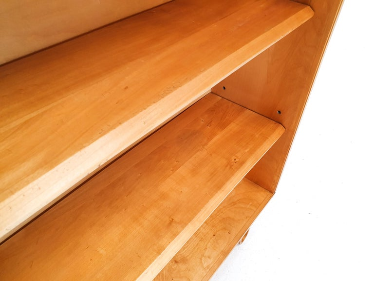 Cees Braakman BB02 Birch Bookcase for UMS Pastoe, Designed 1952, Netherlands For Sale 2