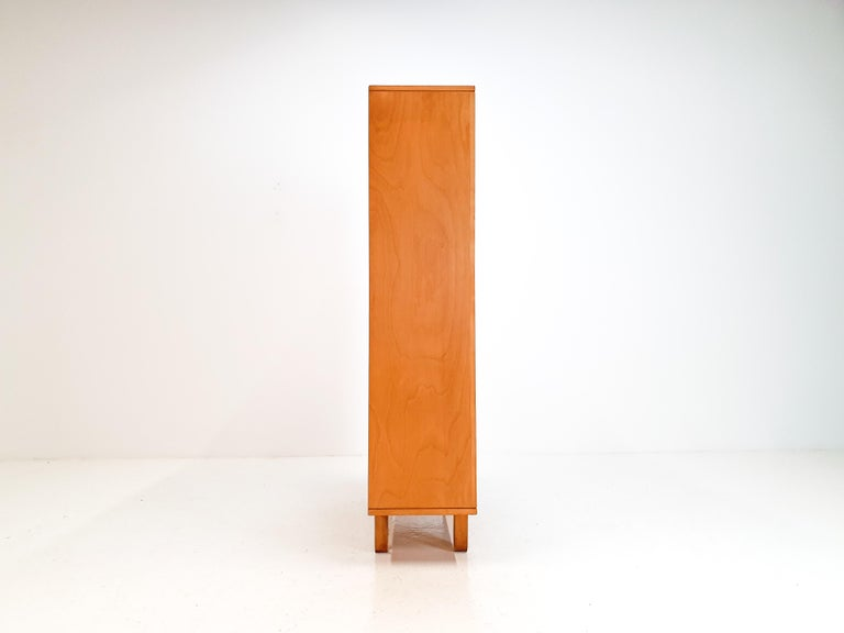 Cees Braakman BB02 Birch Bookcase for UMS Pastoe, Designed 1952, Netherlands For Sale 3