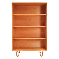 Cees Braakman BB02 Birch Bookcase for UMS Pastoe, Designed 1952, Netherlands