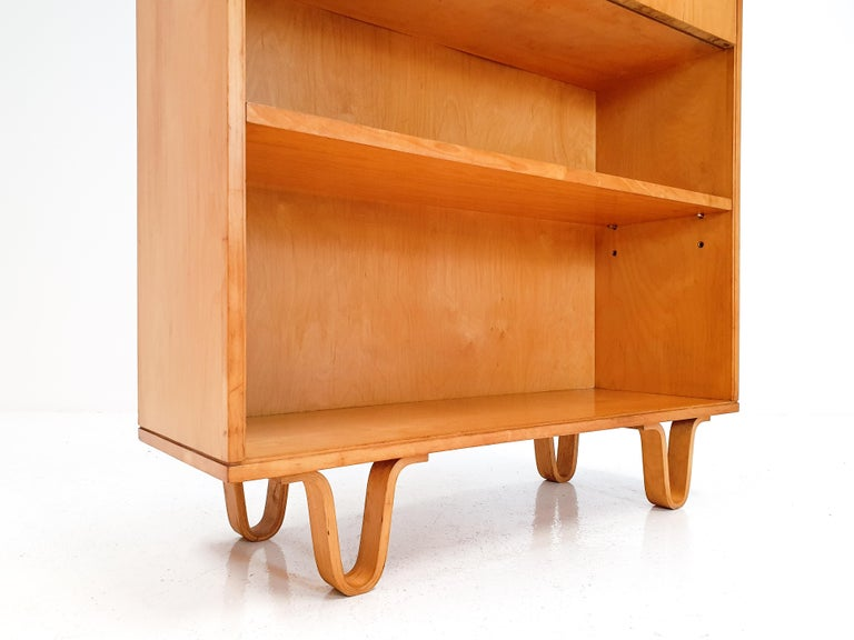 Cees Braakman BB04 Birch Secretaire for UMS Pastoe, Designed 1952, Netherlands For Sale 4