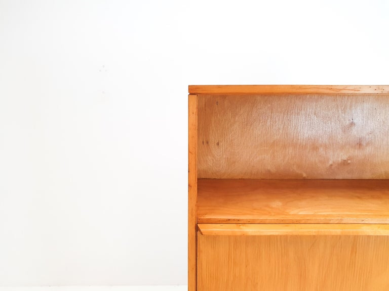 Cees Braakman BB04 Birch Secretaire for UMS Pastoe, Designed 1952, Netherlands For Sale 7