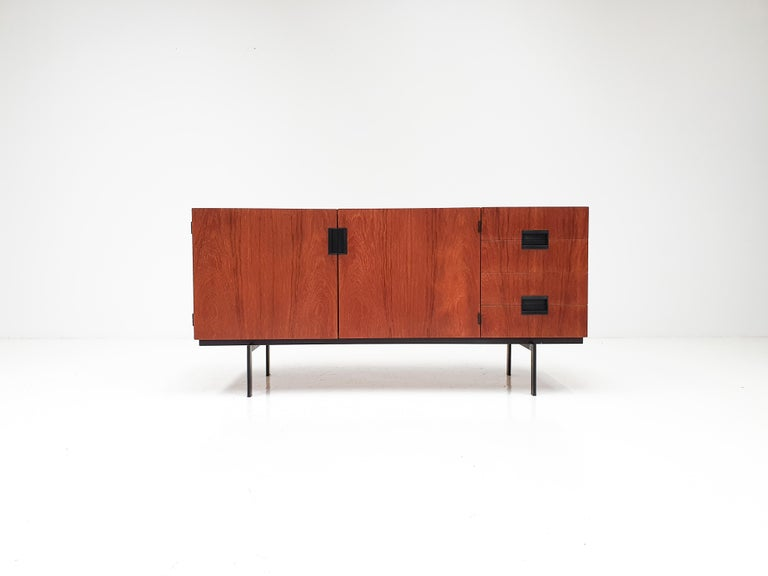 A Cees Braakman 1950s DU-01 sideboard from the highly sought after 'Japanese Series' range for UMS Pastoe, Netherlands.