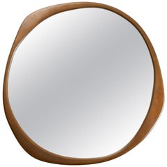 A. Cepa Wall Mirror Small in Hand-Patina Bronze