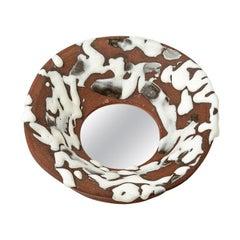 Ceramic Mirror by Mia Jensen, 2019