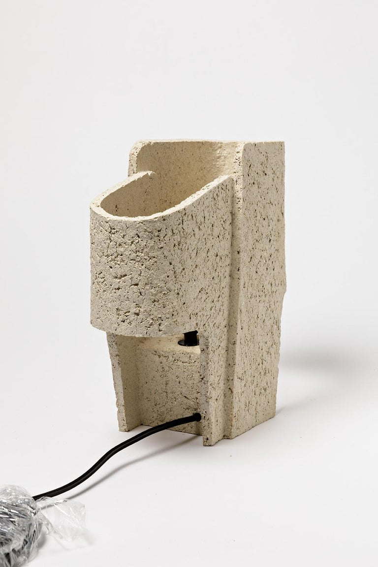 Ceramic Table Lamp by Denis Castaing, 2020 In New Condition For Sale In Saint-Ouen, FR