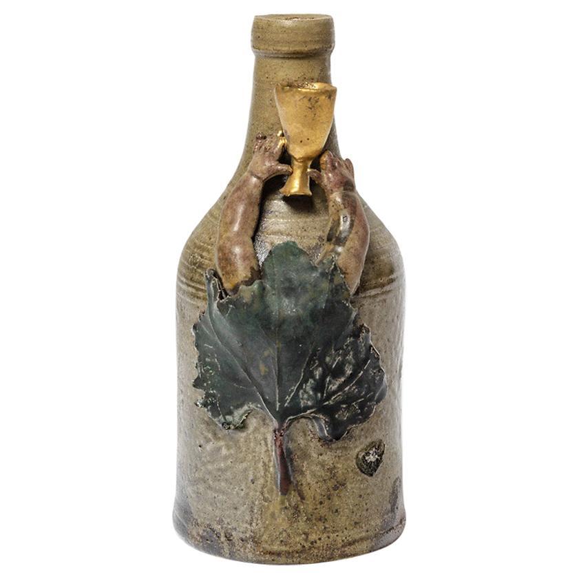 Ceramic Vase by Alain Girel, circa 1985
