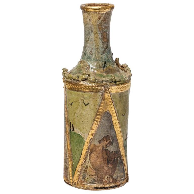 Ceramic Vase by Alain Girel, circa 1987 For Sale