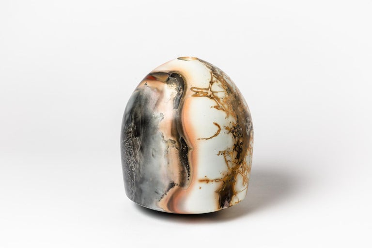 A ceramic vase signed Alistair Danhieux. Signed and dated under the base, 2009. Perfect original conditions.