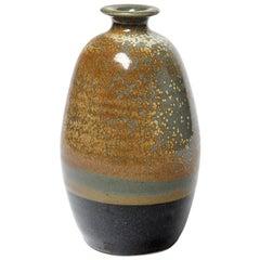 Ceramic Vase by Daniel De Montmollin, circa 1980-1990