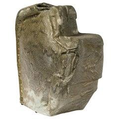Ceramic Vase, Sculpture by Michel Lanos