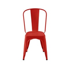 A-Chair Indoor in Chilli Pepper by Xavier Pauchard & Tolix, US