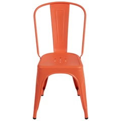 A-Chair in Coral by Xavier Pauchard & Tolix
