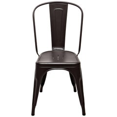 A-Chair in Dark Chocolate by Xavier Pauchard & Tolix