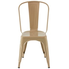 A-Chair in Glossy Nutmeg by Xavier Pauchard & Tolix