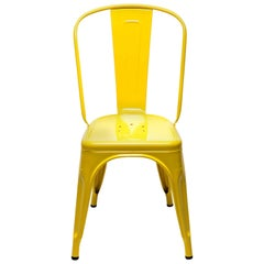A-Chair in Glossy Yellow by Xavier Pauchard & Tolix