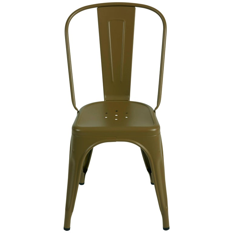 A-Chair in Khaki by Xavier Pauchard & Tolix For Sale