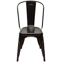 A-Chair in Matte Black by Xavier Pauchard & Tolix