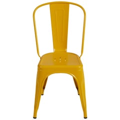A-Chair in Mustard Yellow by Xavier Pauchard & Tolix