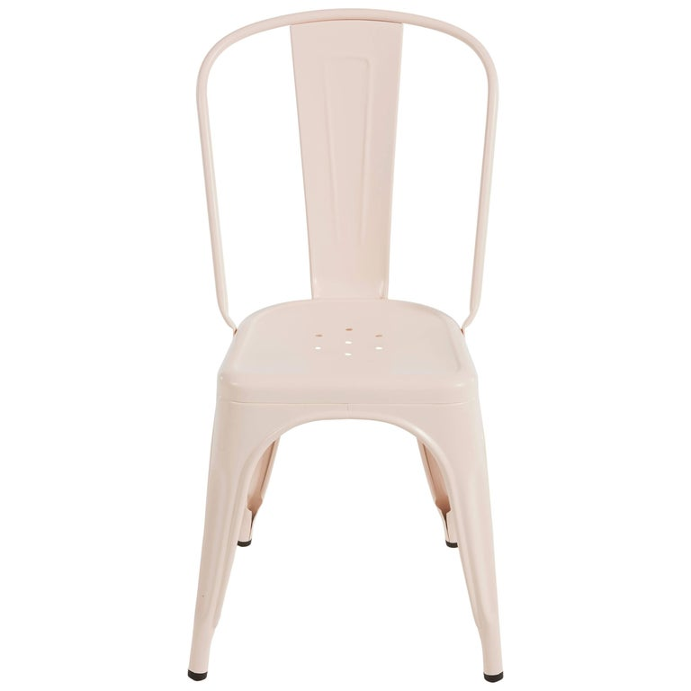 A-Chair in Powder Pink by Xavier Pauchard & Tolix For Sale