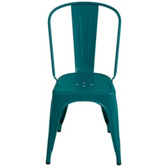 A-Chair in Teal by Xavier Pauchard & Tolix