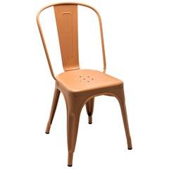 A-Chair in Terracotta by Xavier Pauchard & Tolix