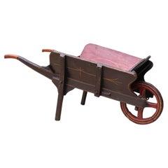Children's Antique Push Cart