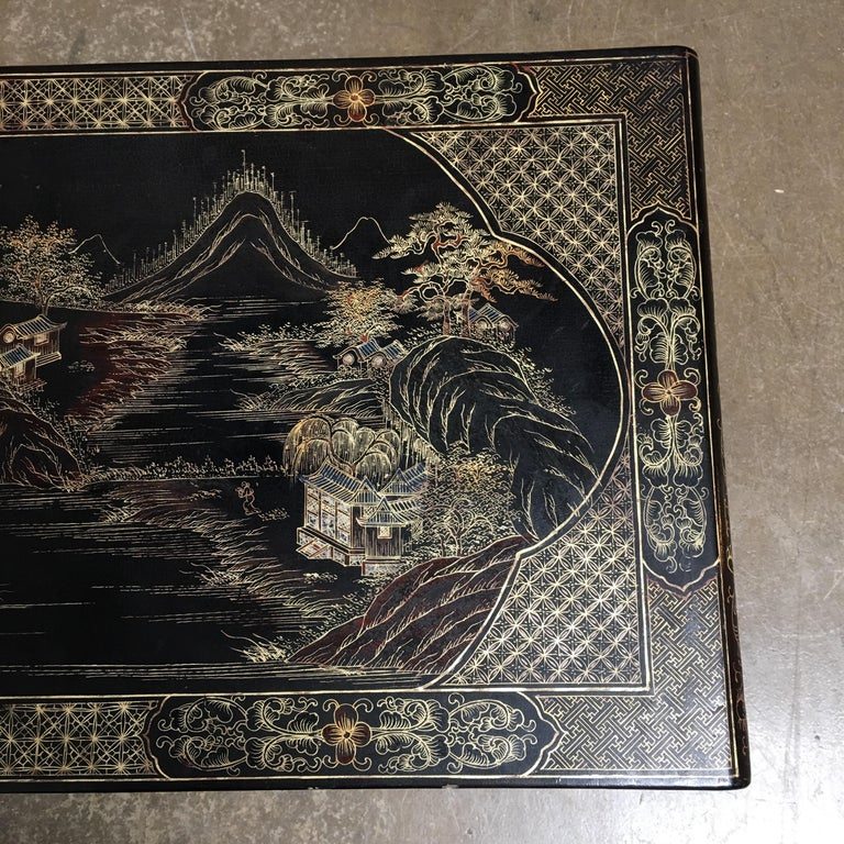 Chinese Lacquered Low Table For Sale 10