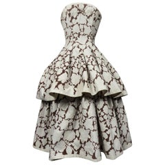 A Christian Dior Couture Ball-Gown Numbered 03683 Circa 1954/1957