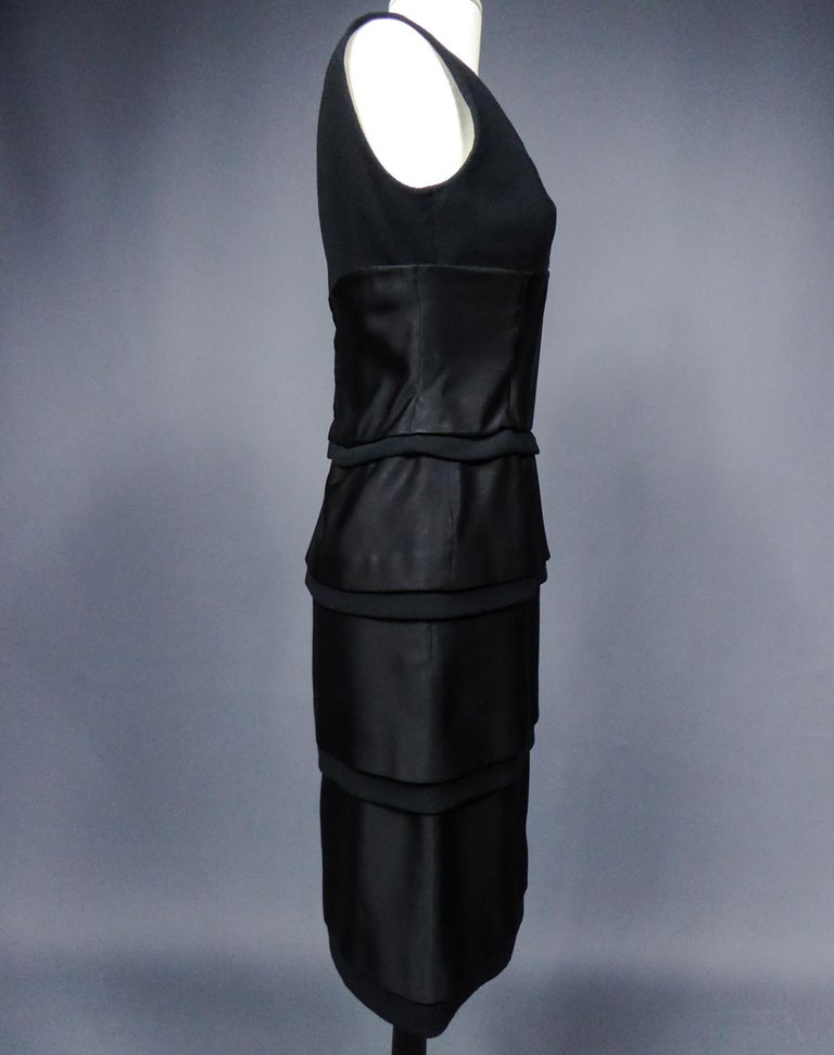 A Christian Dior Haute Couture Little Black Dress by Marc Bohan Fall 1961  For Sale 7