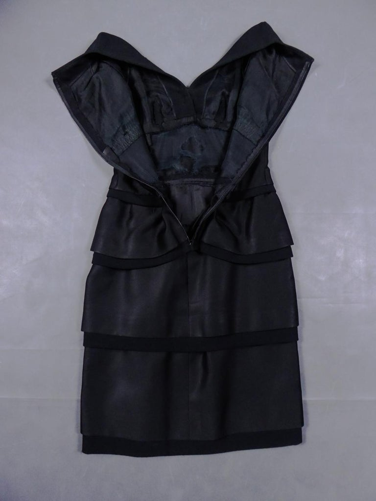 Women's A Christian Dior Haute Couture Little Black Dress by Marc Bohan Fall 1961  For Sale
