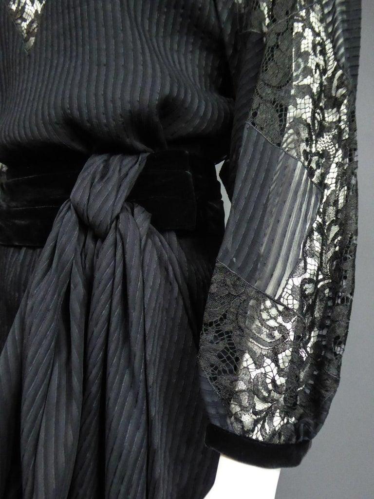 A Christian Dior-Marc Bohan Little Black Dress numbered 15843 Spring Summer 1982 For Sale 8