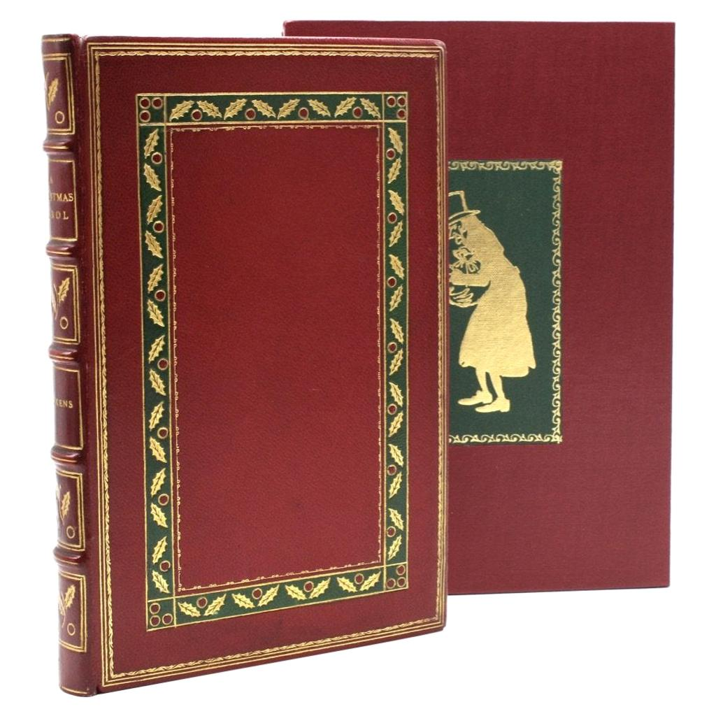 """""""A Christmas Carol"""" by Charles Dickens, First Trade Edition, 1902"""