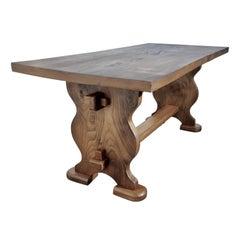 Chunky Solid Elm Farmhouse Coffee Table