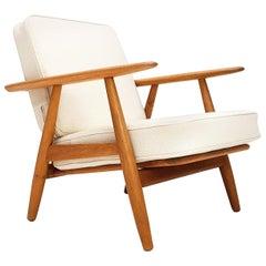'Cigar Chair', Model GE-240 by Hans J. Wegner for GETAMA, Denmark, 1950s