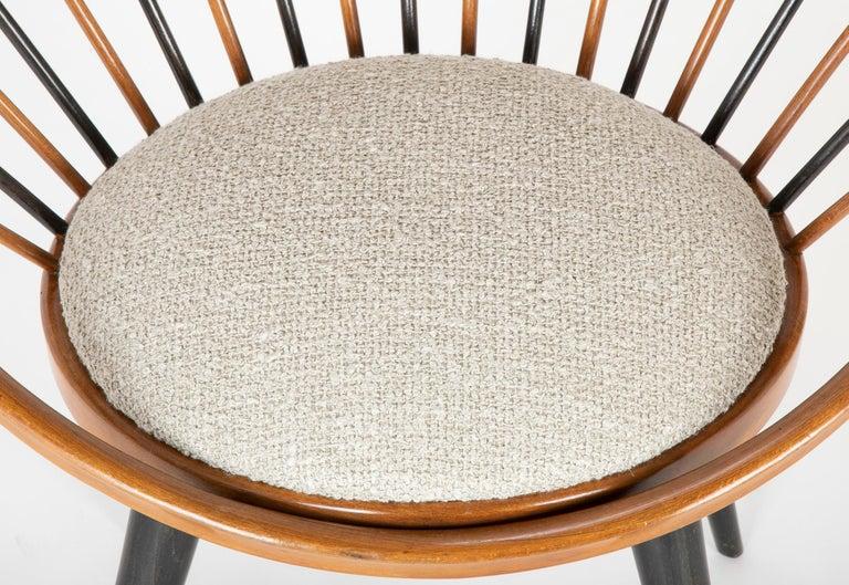 Swedish Circle Chair Designed by Yngve Ekstrom For Sale
