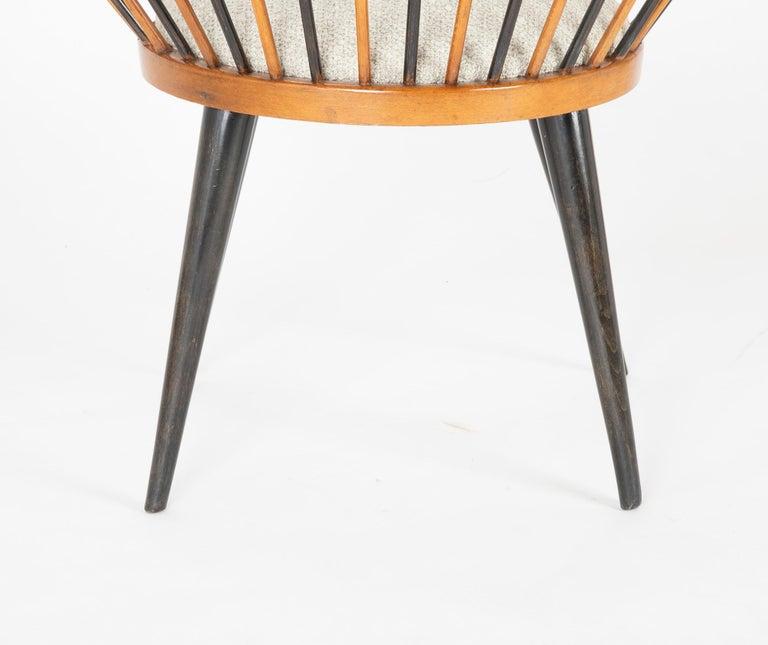 Circle Chair Designed by Yngve Ekstrom For Sale 1