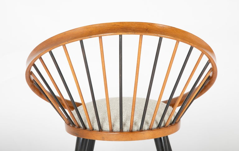 Circle Chair Designed by Yngve Ekstrom For Sale 2