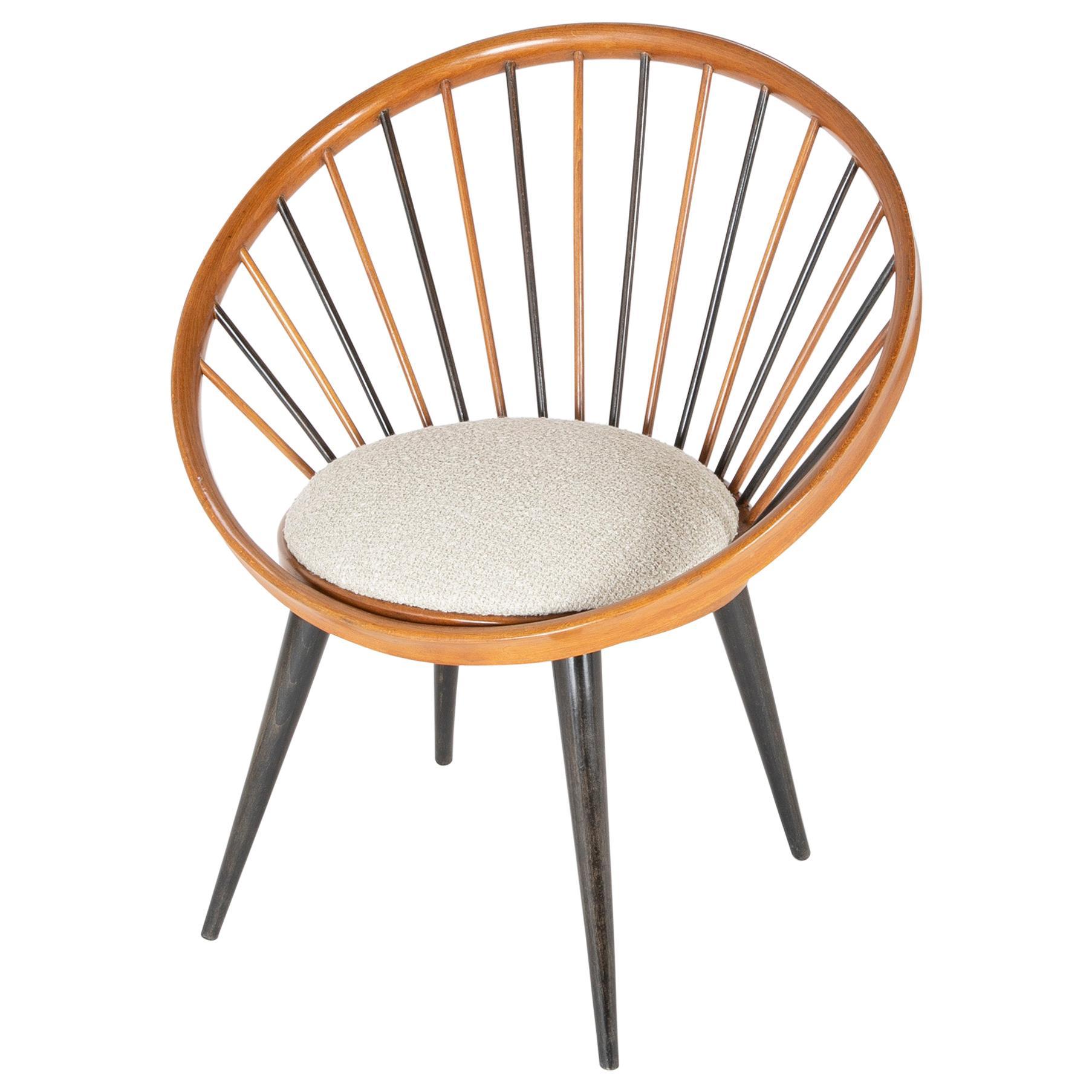Circle Chair Designed by Yngve Ekstrom