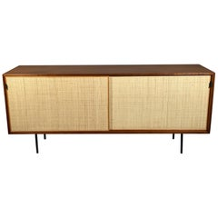 Classic Florence Knoll Credenza in Walnut