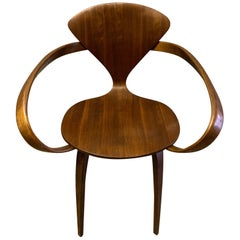 Classic Norman Cherner Armchair for Plycraft