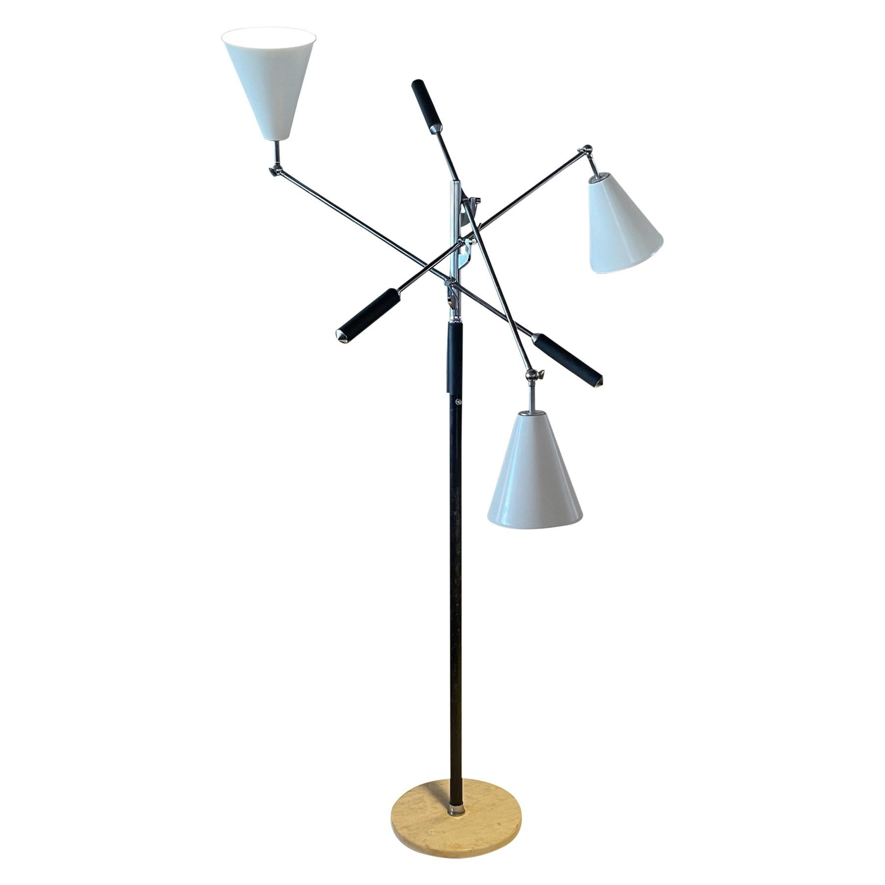A Classic Triennale Floor Lamp Made in Italy